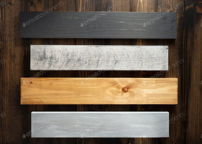 wooden board at plank background