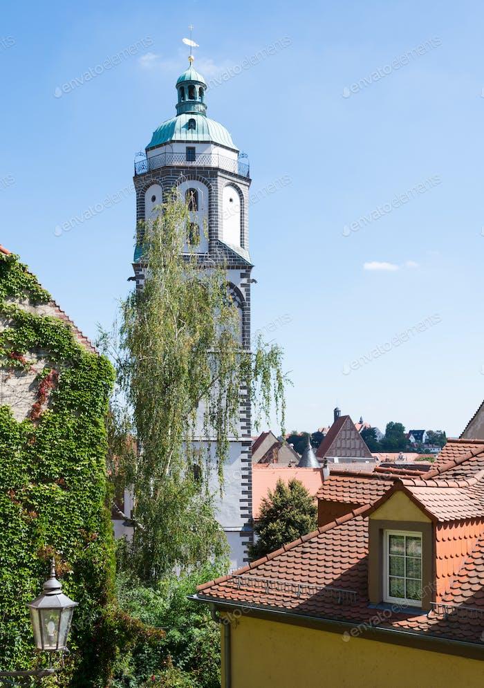 Turm der Frauenkirche in Meißen