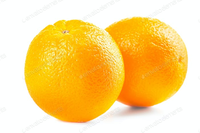 Ripe tasty orange