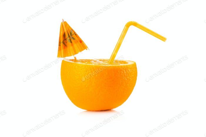 Naranja madura