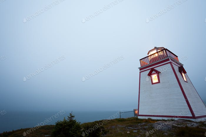 Fort Point Lighthouse Trinity Newfoundland Canada