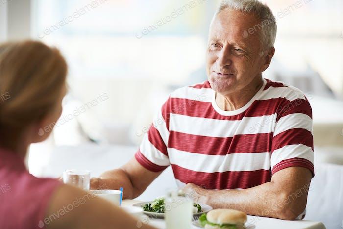 Talking spouses