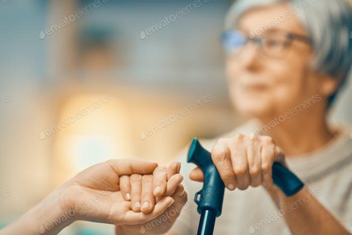 Support for elder people
