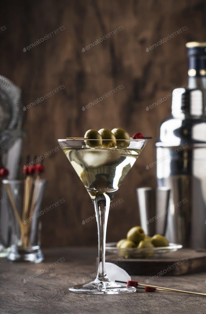 Martini Wodka-Cocktail