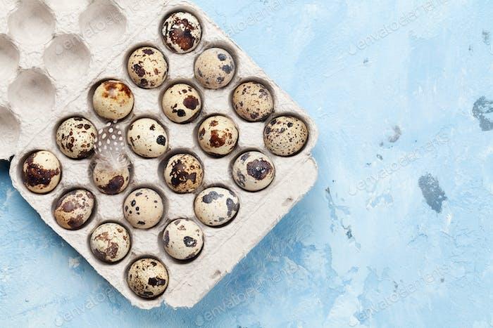 Quail eggs pack
