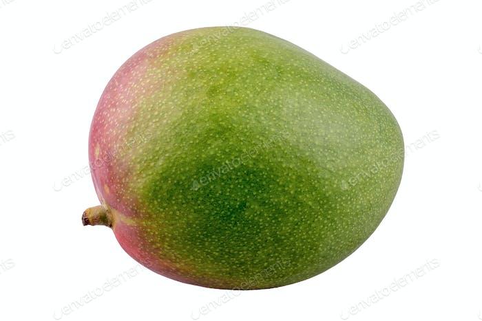 Fresh mango on a white background
