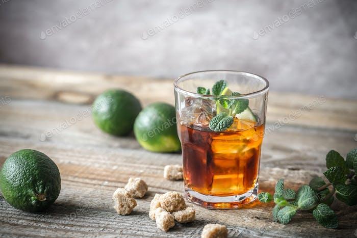 Glas Rum