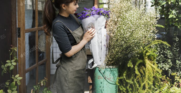 Flower Shop Store Florist Botany Bouquet Blooming