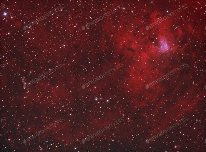 Galaktischer Wasserstoffnebel