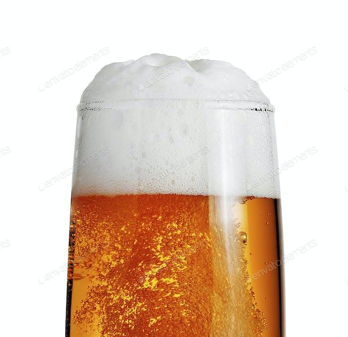 Bier isoliert