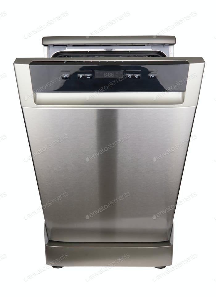 Dishwasher machine isolated