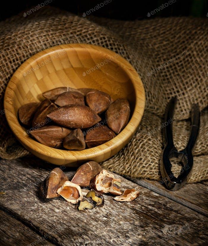 Pili Nüsse aus den Philippinen
