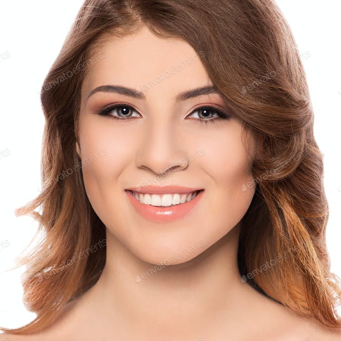 Young smiling woman