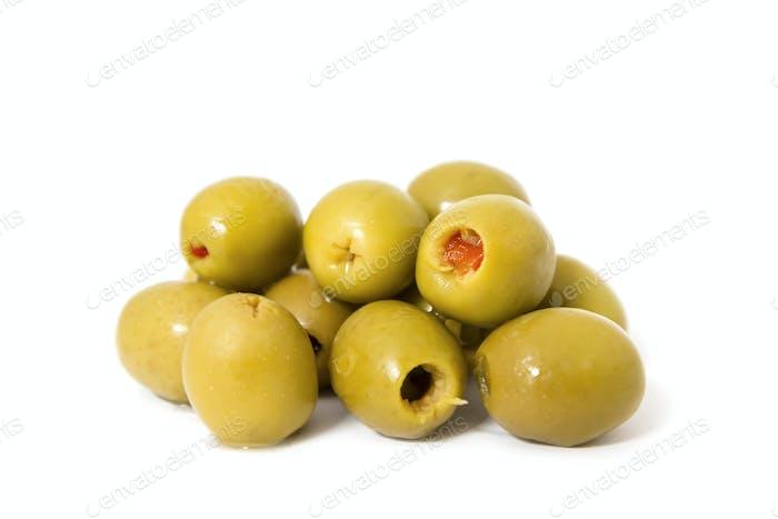 Organic filled Olives