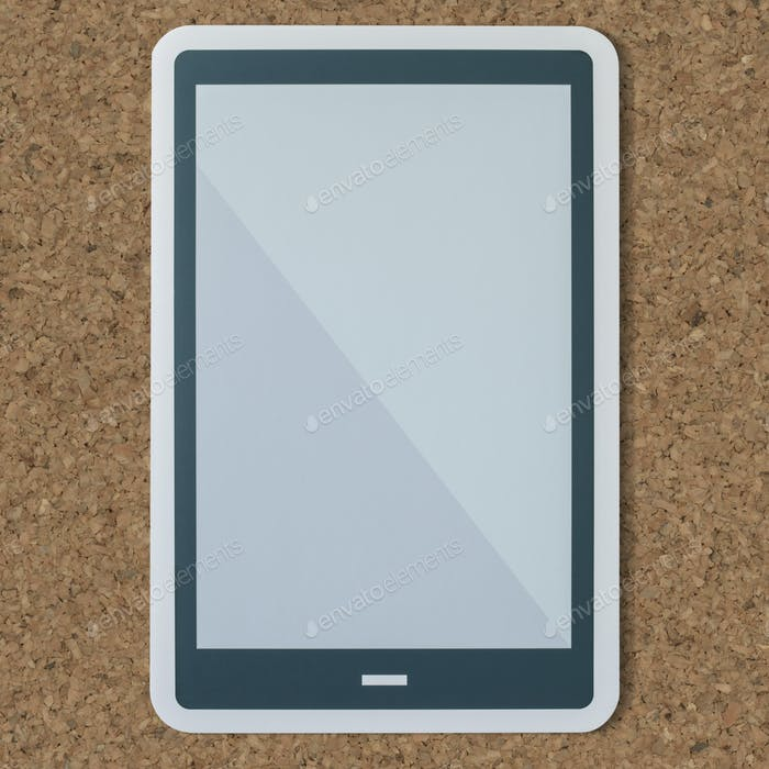 Smartphone digital tablet technology icon