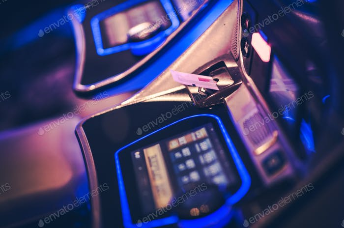 Gaming Voucher in Slot Machine