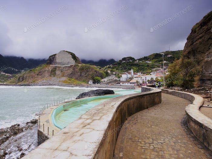 Porto da Cruz on Madeira