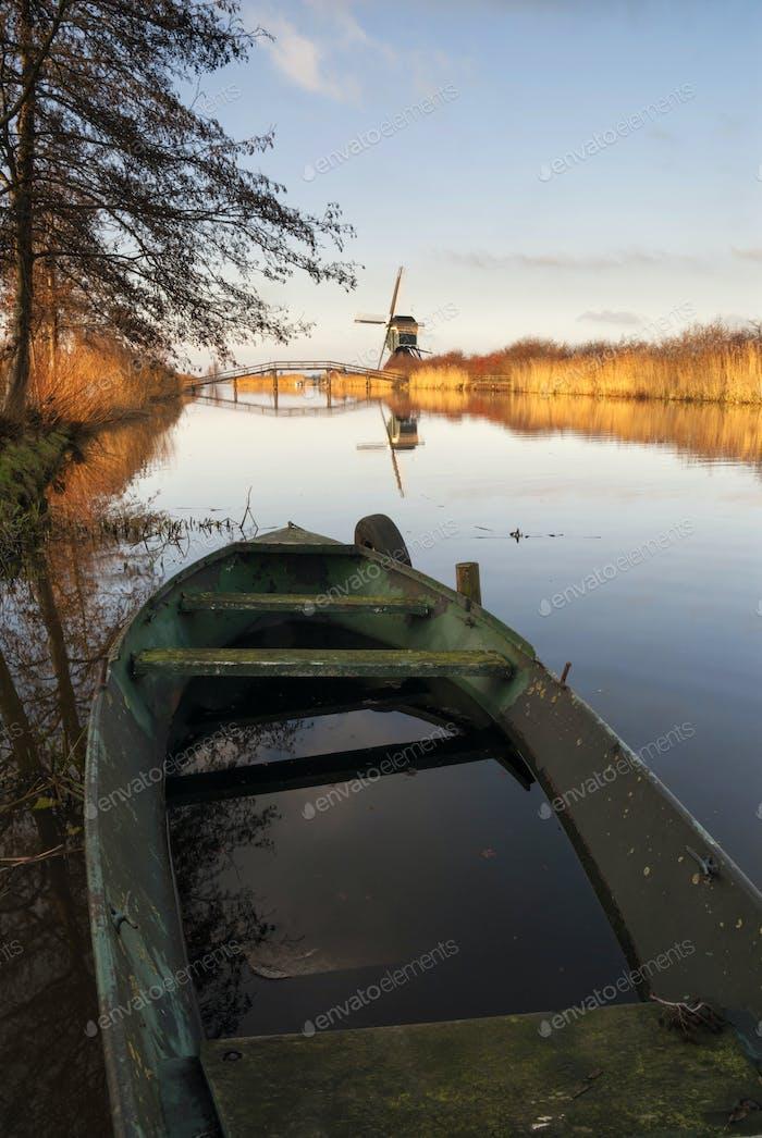 Canal the Ammersche boezem