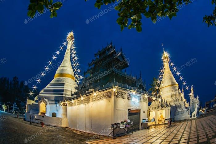 Phra That Doi Kong Mu Temple.