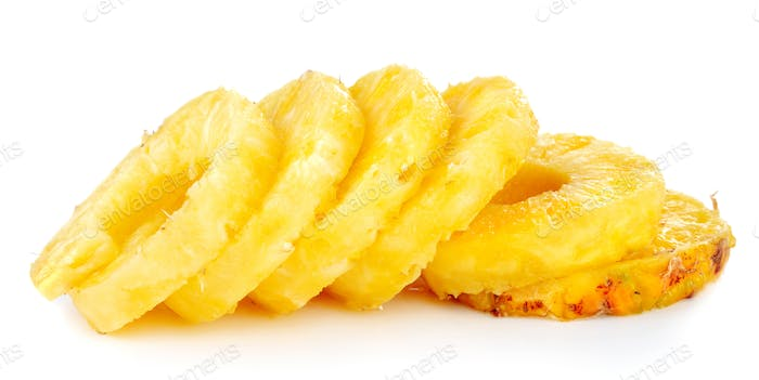 Pineapple slices