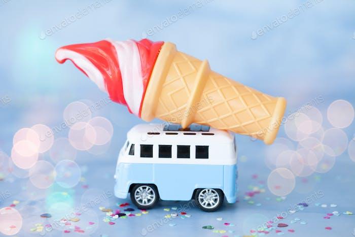 Little ice cream truck