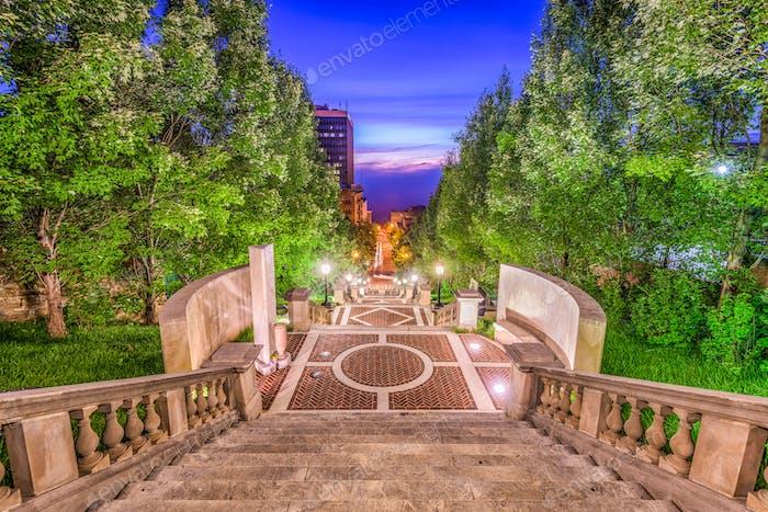 Lynchburg, Virginia, USA Monument Terrace
