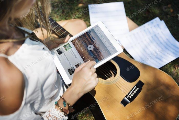 Musik Steaming Multimedia Hören Digital Tablet Technology Co