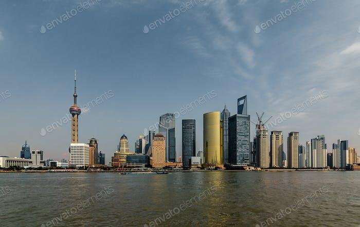 Shanghai Stadt