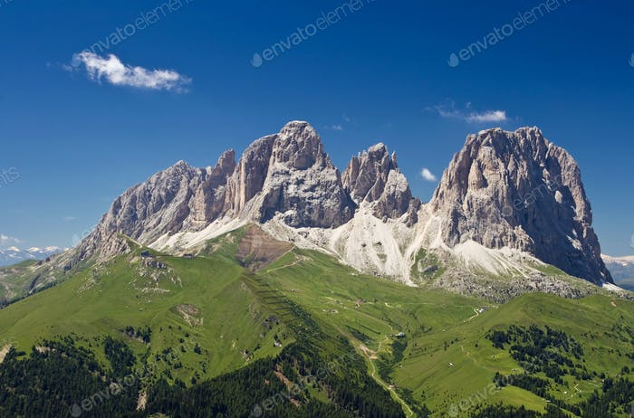 Sassolungo mountain
