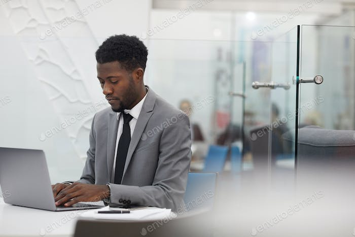 African Office Worker