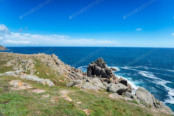 Coast path at Gwennap Head