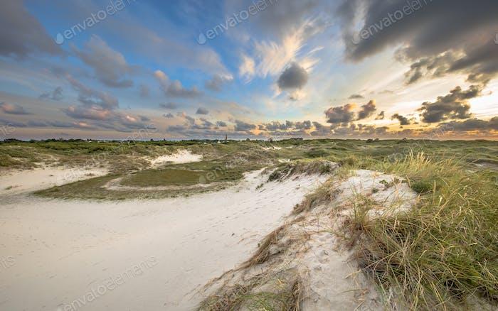Dune landscape on Schiermonnikoog