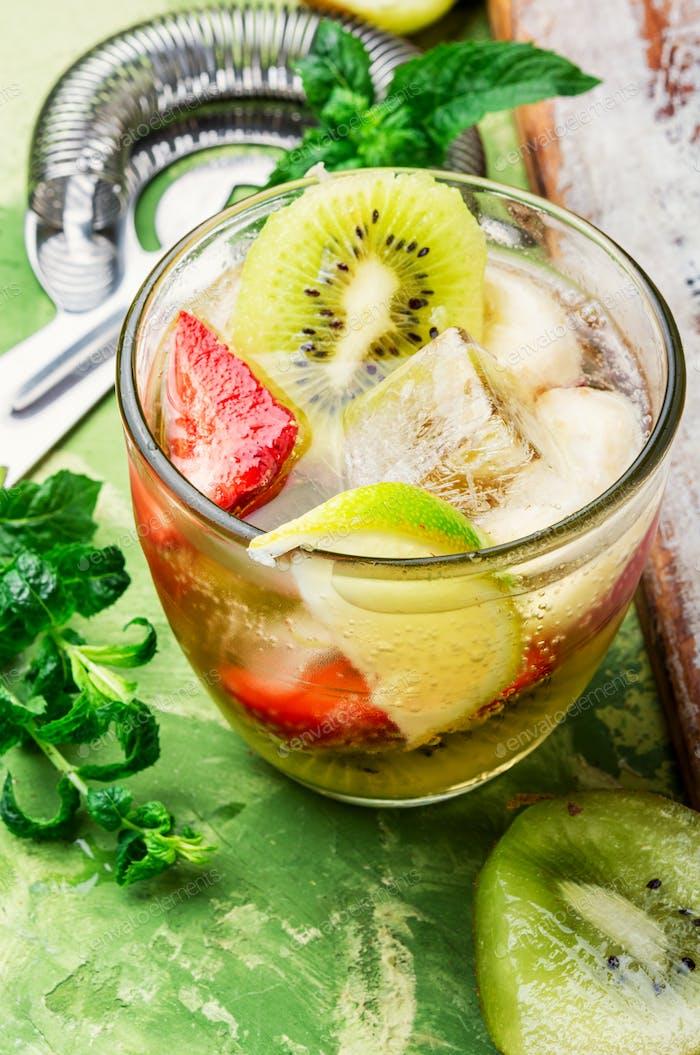 Iced summer drink