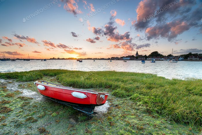 Sunset at Bosham