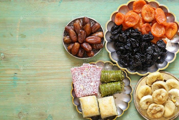 Eastern Sweets (Baklava, Rahat Loachum)