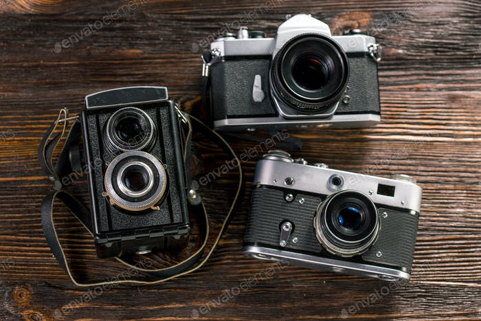 Exposure meter and retro camera