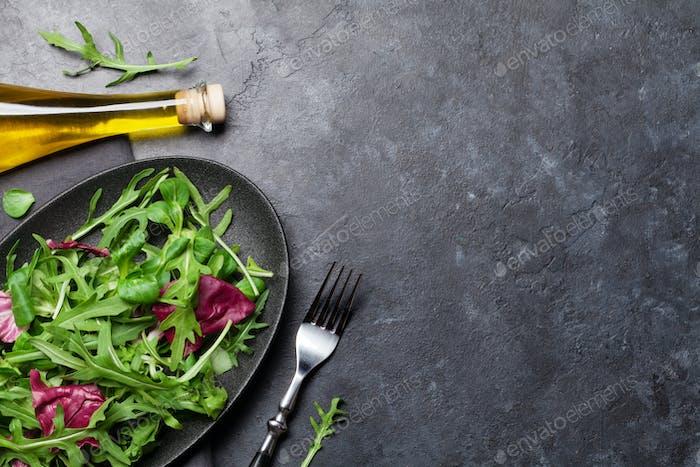 Greent salad mix
