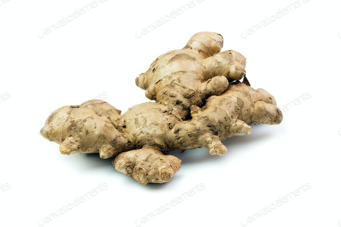 Isolated ginger root