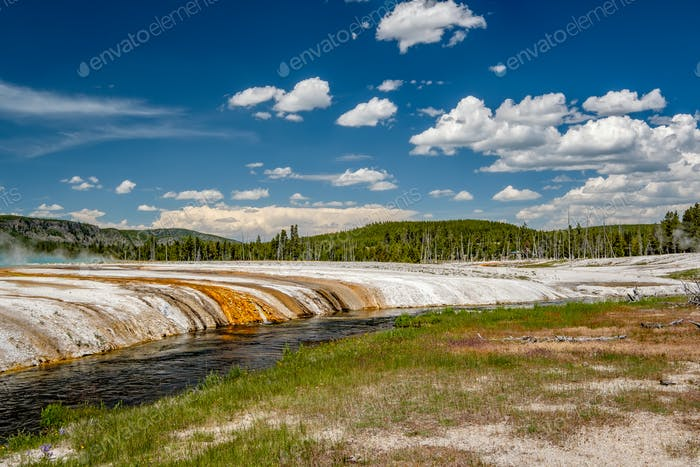 Iron Spring Creek in Yellowstone