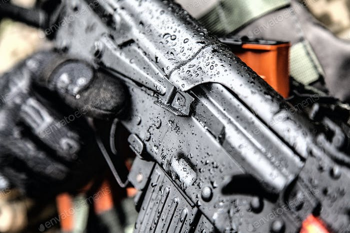 Kalashnikov assault rifle