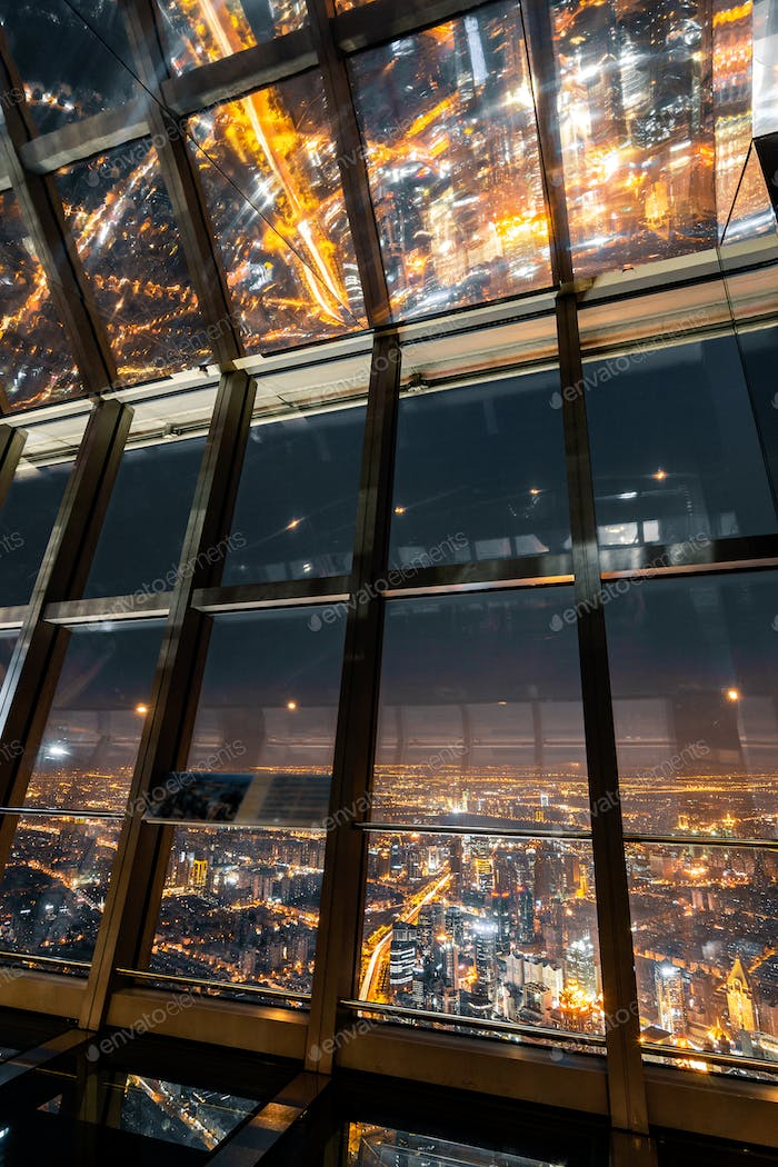 window in skyscraper