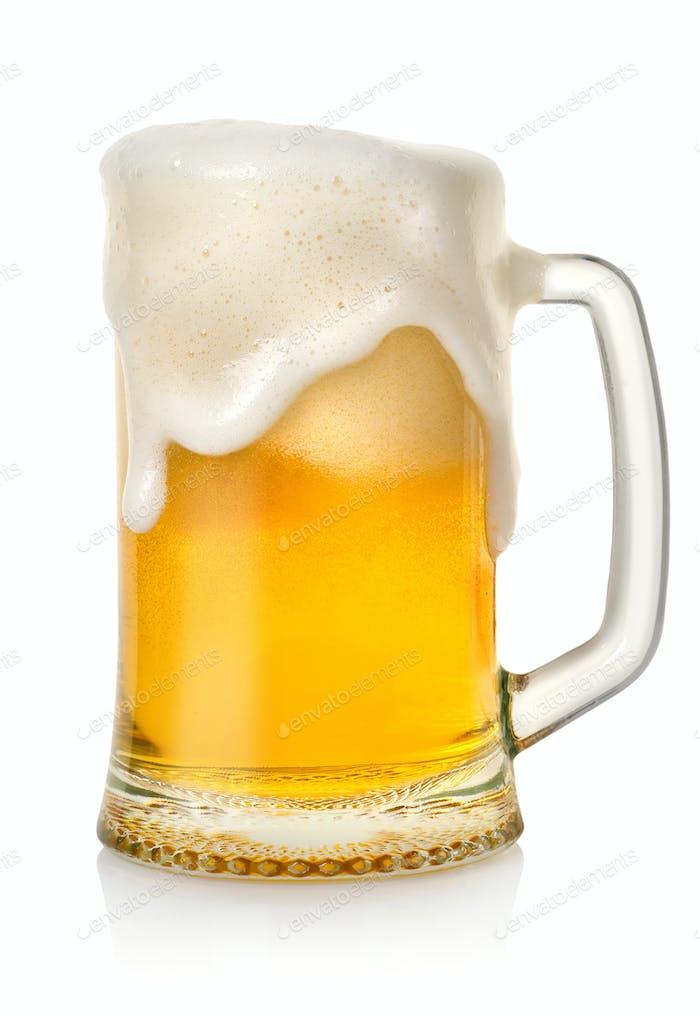 Mug with beer