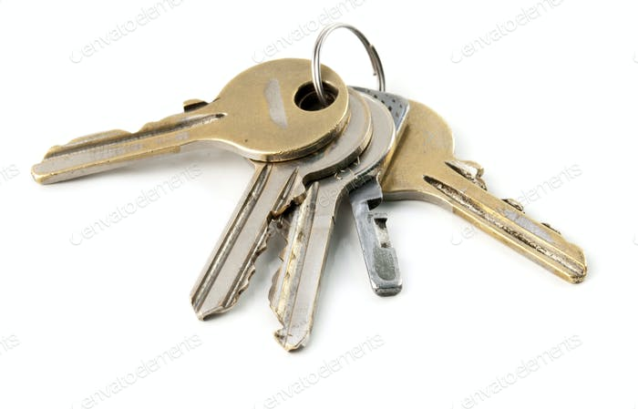 the keys are isolated