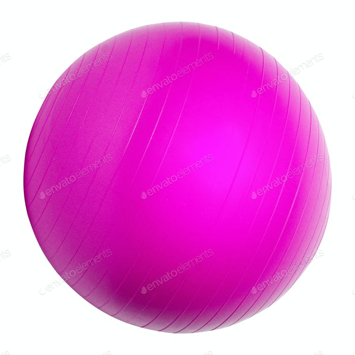 Pink Fitness ball