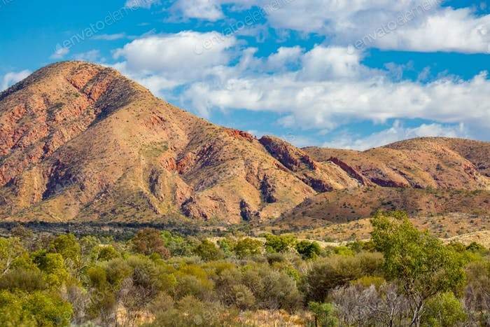 West MacDonnell Ranges View in Australia