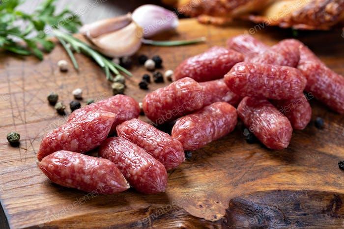 Mini sausages