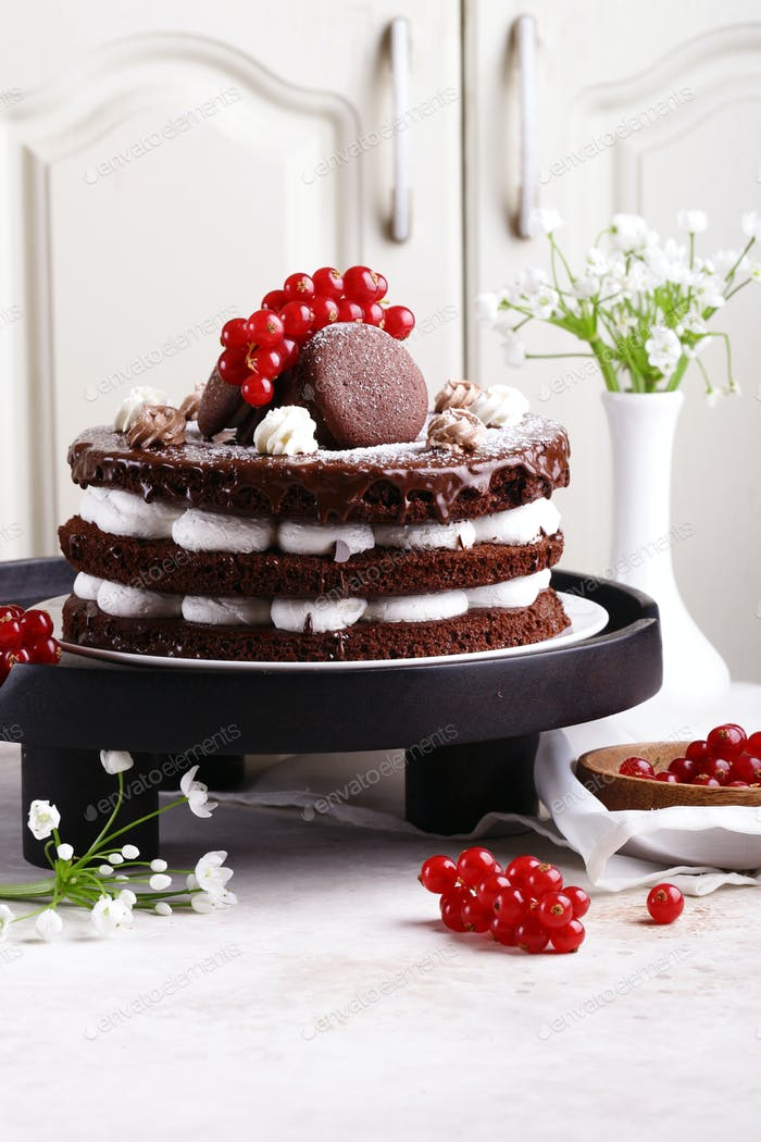 Chocolate Whoopee Pie Cake
