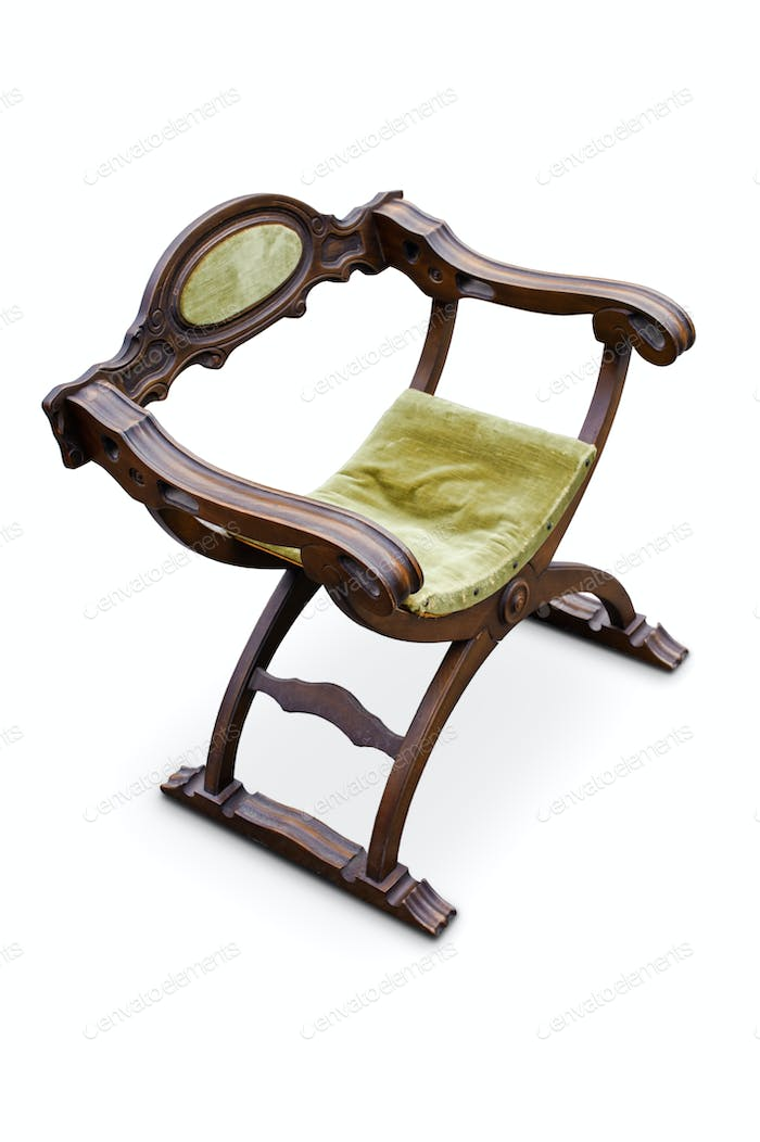 Antique renaissance italian armchair