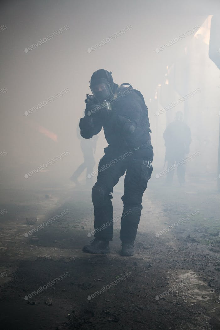 assault in the smoke