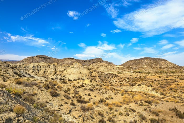 Tabernas desert mountains, andalusia, spain, cinema movie locati